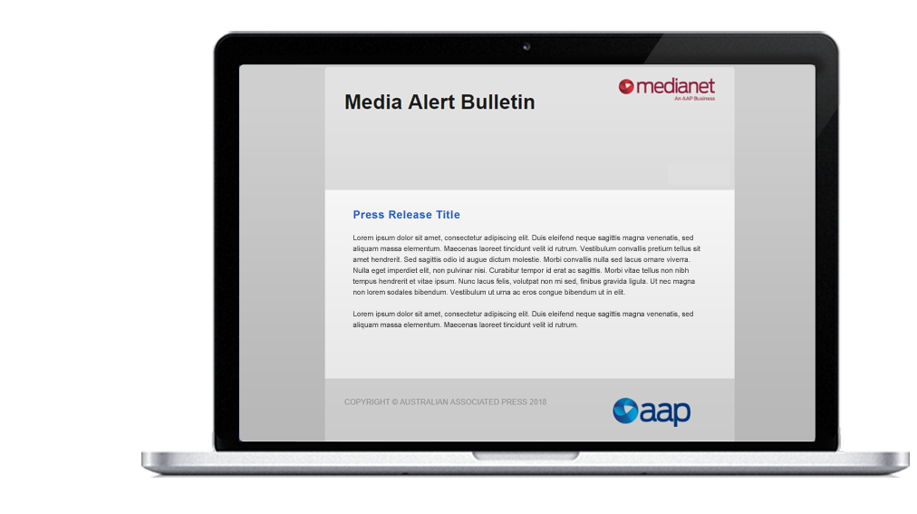 For Journalists - Request curated press releases