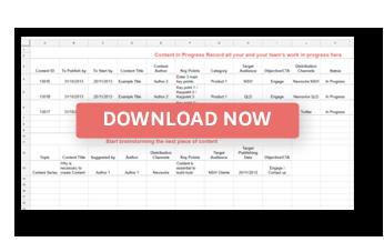 Content Calendar Template - Download Now