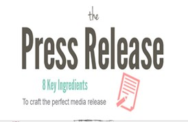Eight Key Ingredients to craft the perfect media release