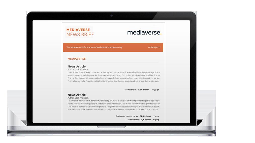Daily Newsletter - Mediaverse
